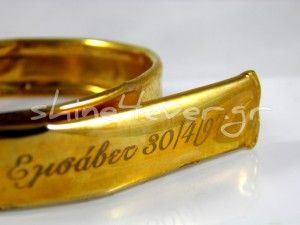 Gold-plated maternity bracelet. By shine4ever.gr