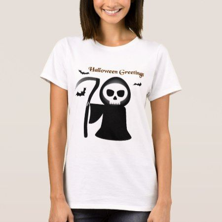 Halloween Greetings T-Shirt - tap to personalize and get yours