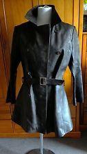 Ladies Leather Jacket Coat  size M 10-12 The Crew Shop, The Leather Boutique