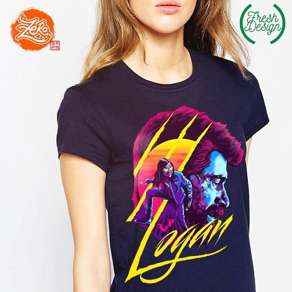 One of the most best Marvel Movies. Logan. Had to make this one on a shirt ;) Exclusively available here.  www.fb.com/zerobriant  Size Charts are at the photos, please scroll right or you can see it below :D  Our shirts are made to order, freshly baked on every purchase! We cater to Mens, Ladies Slim Fit and Kids sizes! All shirts are standard size. Check the size chart carefully. If you are not sure what size to order we recommend measuring your favourite t-shirt and matching it to our ...