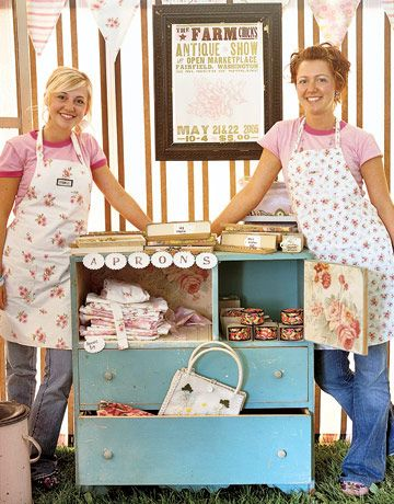 Farm Chicks Antique Show - I checked out their blog and it has great info on Trademarking, and other good stuff.  This was pinned from the Country Living Website which has a lot of antique shows listed as well.  FUN!