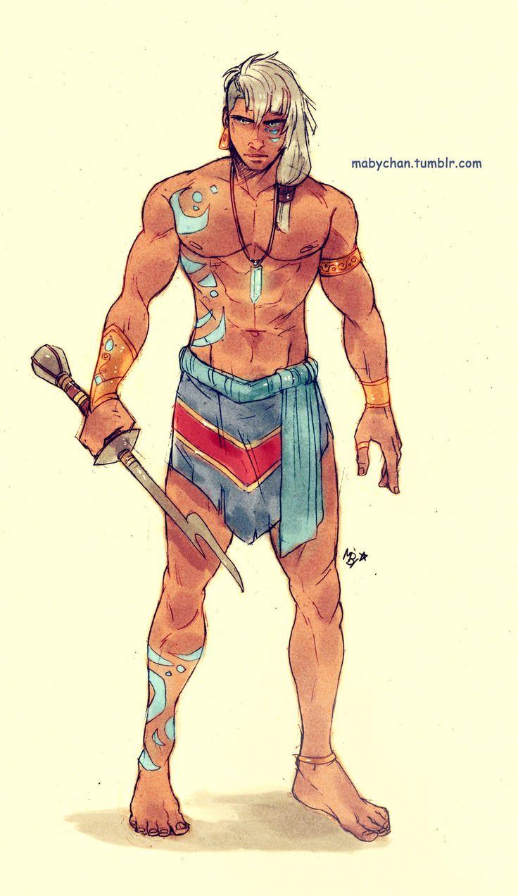 Male!Kida by Maby-chan.deviantart.com on @deviantART