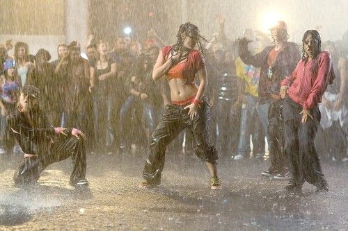 Step up 2!!! I want her abs and her dance skills!