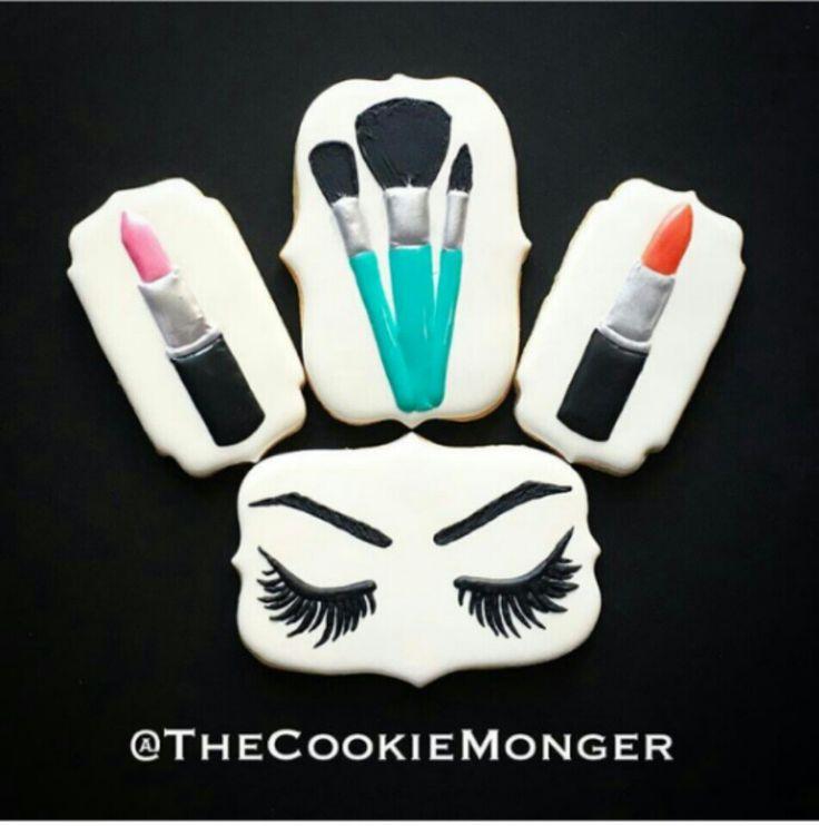 Makeup Cookies   Cookie Monger