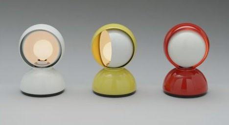 """""""Eclisse"""" lamp, designer Vico Magistretti for Artemide"""