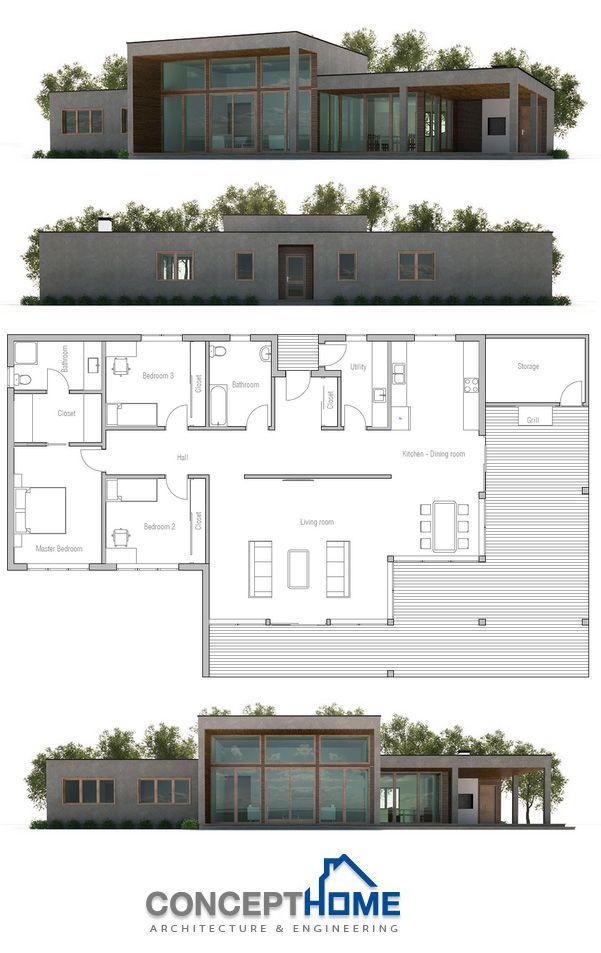 Maison sur 1 étage