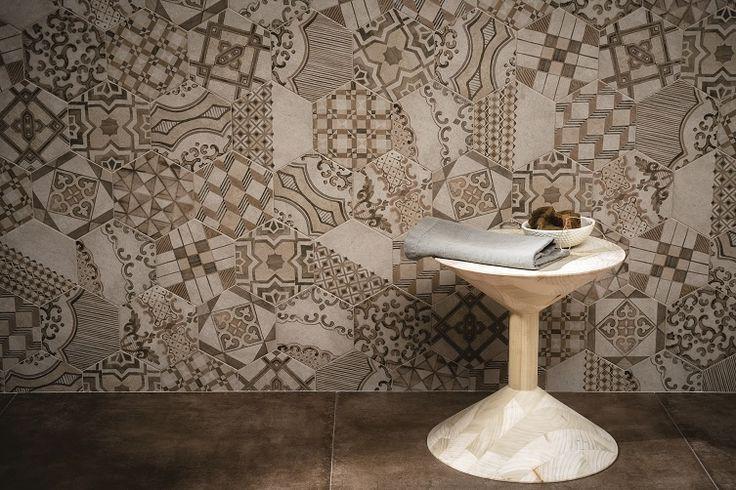 Meer dan 1000 idee n over zeshoekige tegels op pinterest zeshoekige tegel cement tegels en - Patroon cement tegels ...