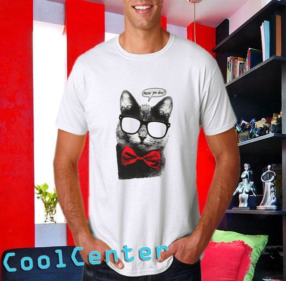 Meow You Doin   men tank top print screen tshirt for by CoolCenter