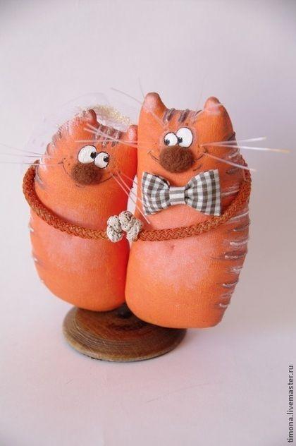 Купить Я нарисую счастье оранжевою краской... - рыжий, оранжевый, свадебный подарок, подарок влюбленным