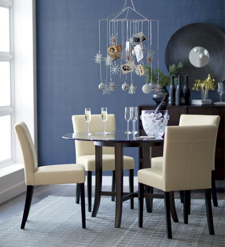 Best Pinspiring Decor Images On Pinterest Living Room - Crate and barrel leather dining chair