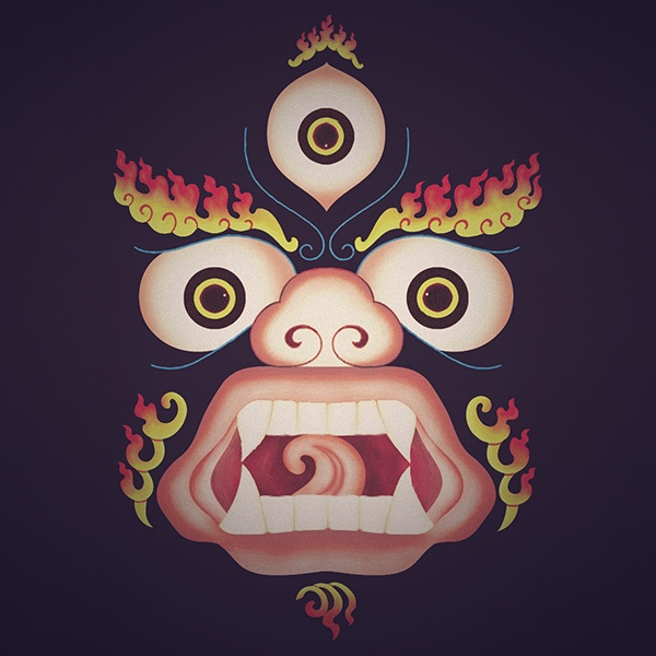 Buddhist protector