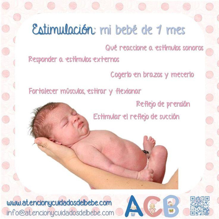 Estimulaci n para mi beb de 1 mes atencionycuidadosdelbebe estimulacion estimulacion - Estimulacion bebe 3 meses ...