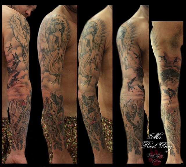 Scottish Sleve Tattoo