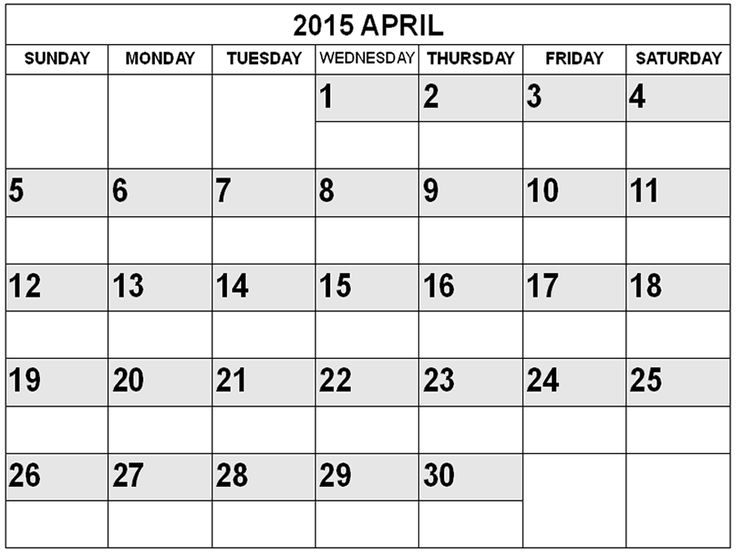 Calendar Monthly Australia : Best collection of april calendar