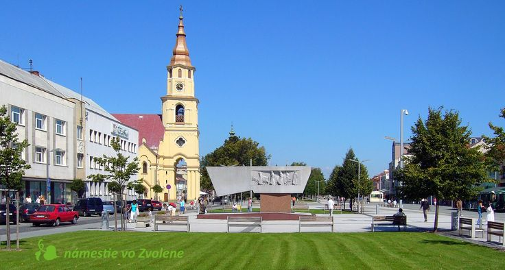 Slovensko - mestá, kraje, regióny: ZVOLEN