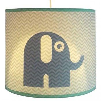 Hanglamp olifant silhouet