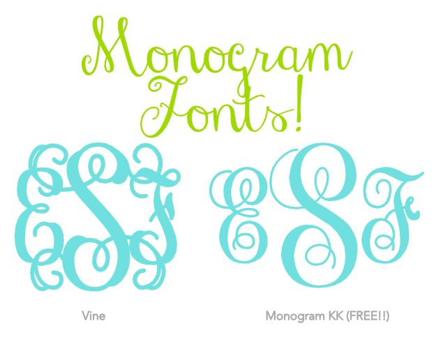 free monogram fonts 17 best images about my mid crisis on 6077