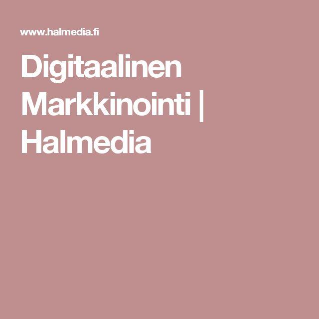 Digitaalinen Markkinointi | Halmedia