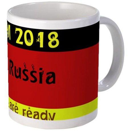 WM 2018 in Russia Mugs on CafePress.com