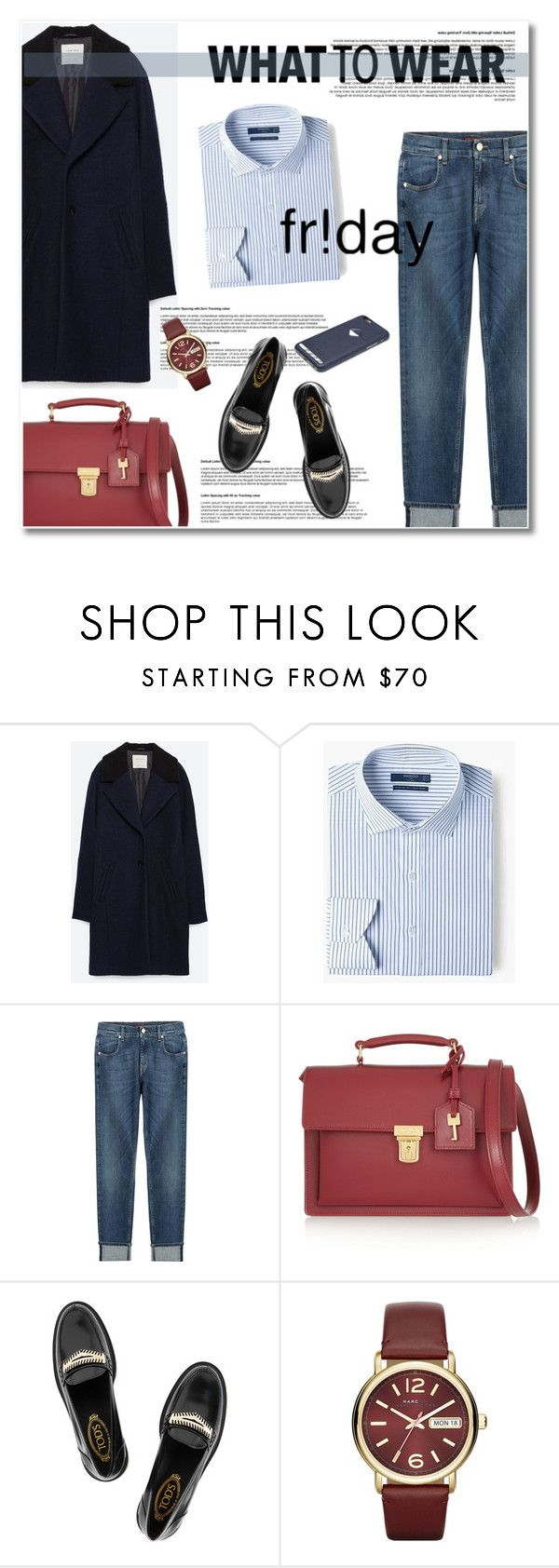 """""""black friday shopping"""" by limass ❤ liked on Polyvore featuring Zara, MANGO, 7 For All Mankind, Yves Saint Laurent, Tod's, Marc by Marc Jacobs, Bellroy and shoptilyoudrop"""