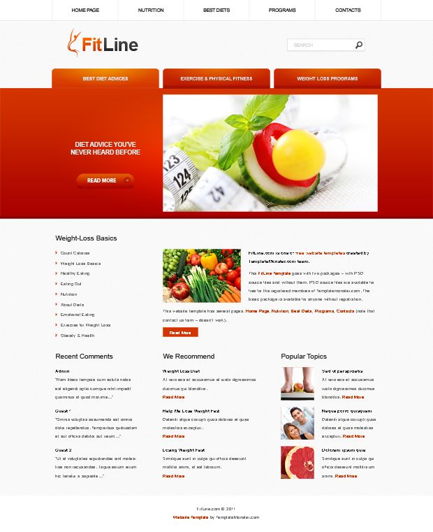The 25+ best Free website templates ideas on Pinterest Free web - fitness templates free