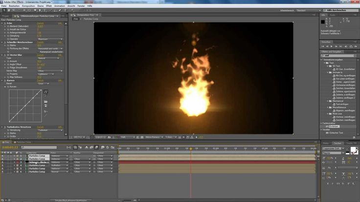 After Effects Tutorial: Particle Fire (No Stock Footage)