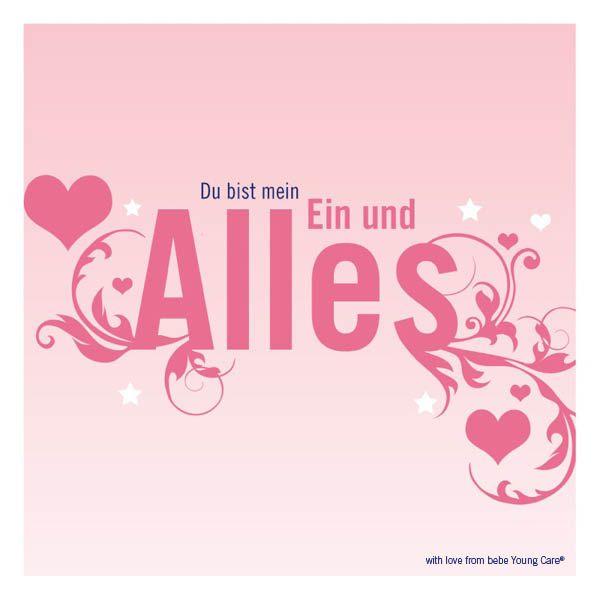 Mein Ein und Alles! www.bebe.de #bebe #bebeyoungcare #love #liebe #freundschaft #friendship #zitate #quotes