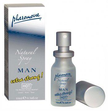 EXTRA FUERTE FEROMONAS HOT PARA HOMBRE OLOR NEUTRO -Con este perfume de feromonas masculinas extra fuerte de olor neutro de la casa HOT, no dejarás indiferente a ninguna mujer, allá donde vayas serás el centro de atracción.  El perfume de feromonas extra fuerte de HOT tiene un olor neutro, con o que podrás utilizar tu perfume habitual al mismo tiempo (aplicar por separado).  El perfume de feromonas extra fuerte gracias a ello atraerás sexualmente a todos las mujeres de tu alrededor.