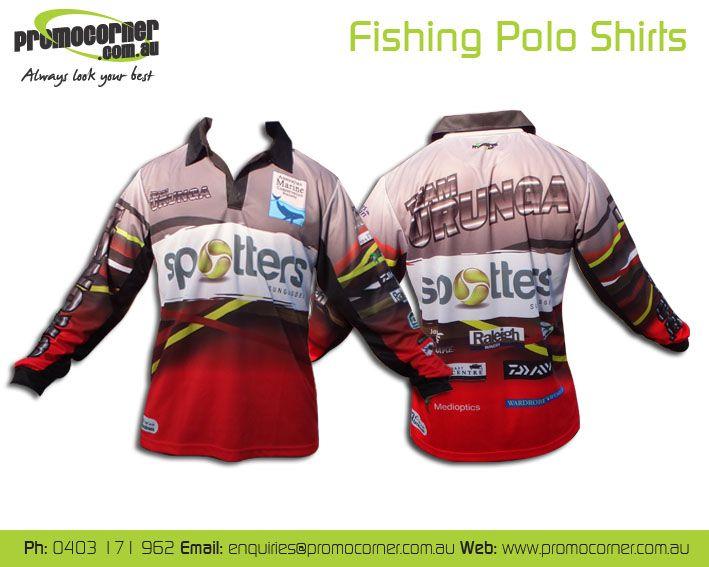 Sublimated Fishing Shirts. Custom make you own design.  http://promocorner.com.au/sublimated-fishing-shirts/ #fishing #fishingshirts #custommade