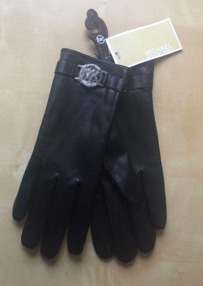 MICHAEL KORS Damen  Handschuhe Leder  Original NEW NEU  #MICHAELKORS #Handschuhe