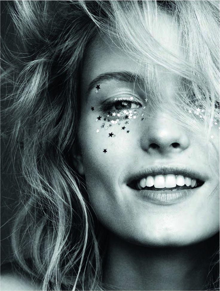 Elle Sweden, January 2016 festival glitter