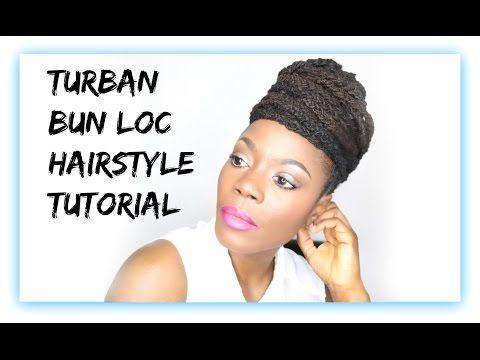 114 best ebony hair lock styles images on pinterest ebony hair loc hairstyle tutorial turban bun updojungle barbie youtube pmusecretfo Images