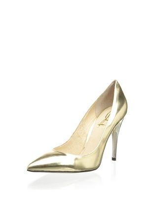 69% OFF Joan & David Women's Amandie Pump (Gold Metallic)