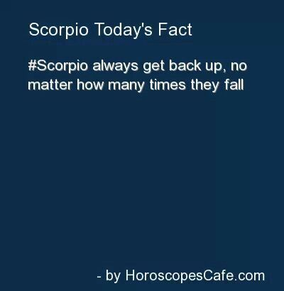 Scorpio Fact