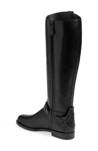 Tory Burch 'Derby' Leather Riding Boot (Women) Was: $495.00 Now: $349.98 25% OFFFree ShippingItem #1165430