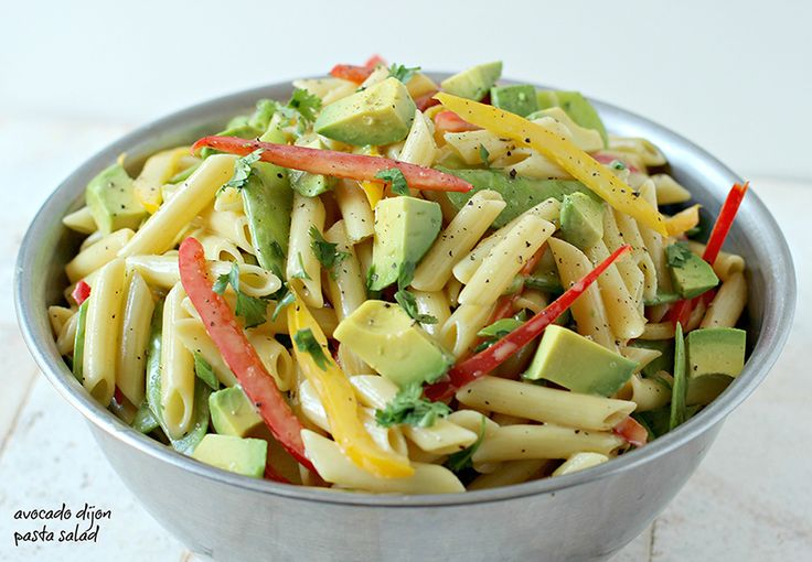 2013 All American Recipe Contest - Healthy Summer Recipe Category First Place Winner!Penne pasta is combined with Dijon mustard and honey. Creamy cubes of avocado are added at the last moment completing this fantastic and easy summer dish.
