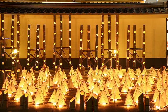"Mizuakari | ""Bamboo Lantern Festivsl at Kumamoto castle."" Ch… | Flickr"
