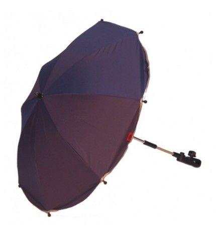 Parasolka do wózka z filtrem UV Kees granatowy