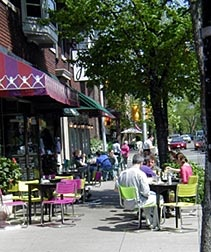 Our new neighborhood!   park avenue cafes, pubs, and restaurants in rochester, ny 14607