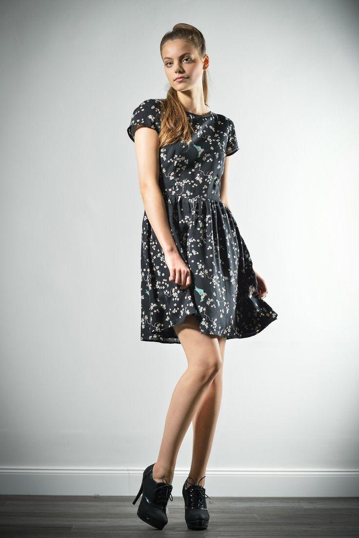Zoe wearing Armedangels dress