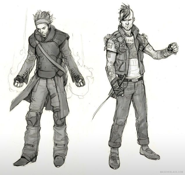 The inFamous Video Game Art of Wesley Burt