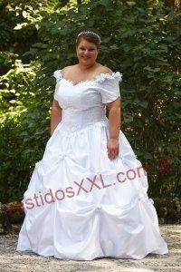 Vestido de Novia Campestre para gordita