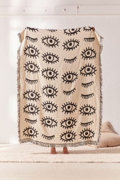 Shop Calhoun & Co. X UO Allover Eyes Woven Throw Blanket at Urban Outfitters today. We carry all the latest styles, colors and brands for you to choose from right here.