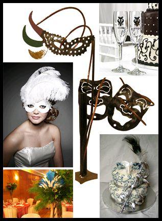 Masquerade ball wedding?