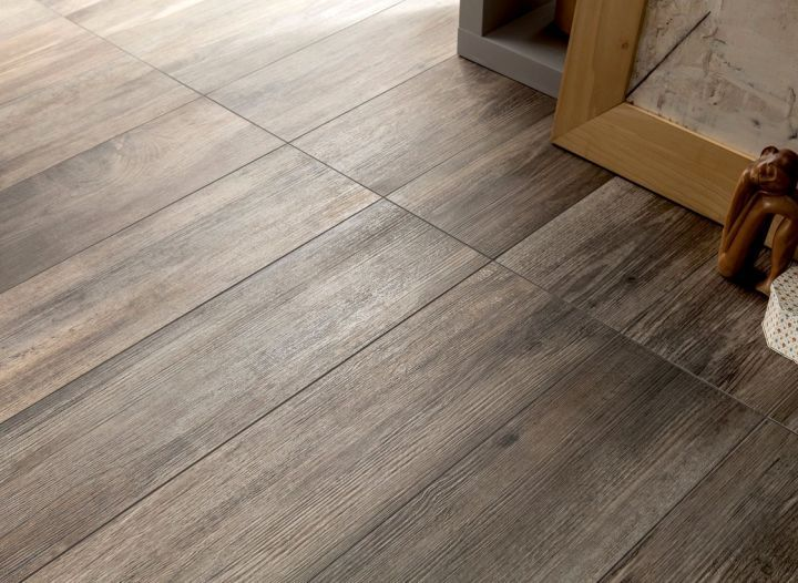 Floor Tiles For Living Room Dining Room Entry And Halls Scorched Wood Panel