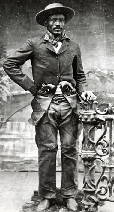 Isom Dart ~ A Black Cowboy It seems history has conspired against the many cowboys of color. Isom Dart is one of those black cowboys whose adventures are often left untold. Born a slave in Arkansas and later freed by the Civil War he rode West. His pursuits ranged from rodeo rider to cattle rustler. His life came to an abrupt end when he was shot down in Cold Springs, Colorado by an unknown assailant on October 3, 1900. #Black_History.