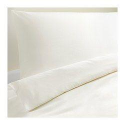 IKEA - DVALA, Duvet cover and pillowcase(s), Full/Queen (Double/Queen), , Twin includes 1 Queen pillowcase, Full/Queen includes 2 Queen pillowcases and King includes 2 King pillowcases.