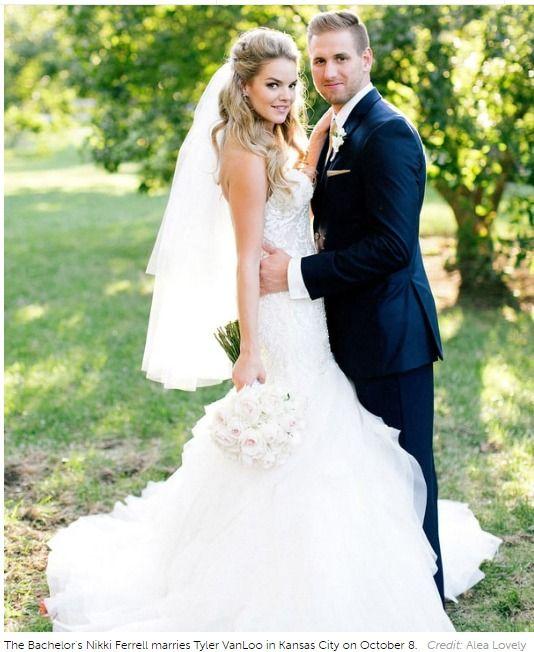 Here Is The 'Wowsome' Wedding Dress of 'Bachelor' Alum Nikki Ferrell