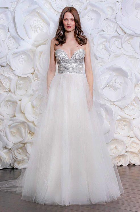 256 best Tulle Wedding Dresses images on Pinterest | Short wedding ...