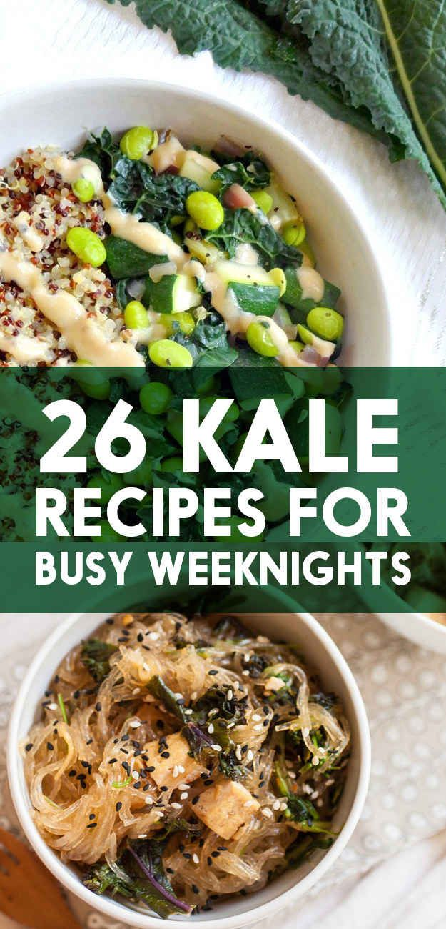 These 26 Recipes Will Make You Fall In Love With Kale